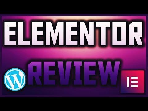Elementor Review | WordPress Page Builder | Elementor Tutorial | Make Custom Pages In WordPress 2017