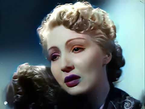 """Download 1953 """"Beklenen Şarkı"""" Filminden Kısa Sahne-Zeki Müren,Cahide Sonku-Renklendirildi,Restore Edildi"""