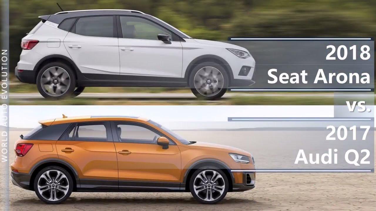 2018 seat arona vs 2017 audi q2 technical comparison. Black Bedroom Furniture Sets. Home Design Ideas