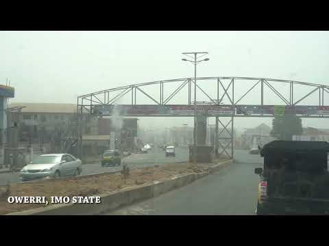 Driving around Owerri, Imo State