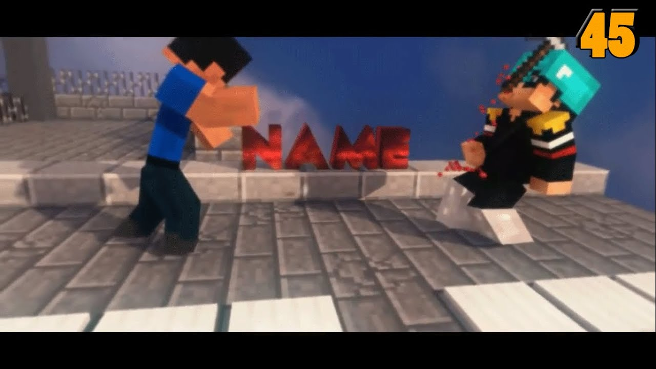 Minecraft animation intro template 2016 blender download free.