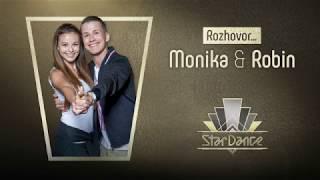 ROZHOVOR: Monika Bagárová a Robin Ondráček | #StarDance9