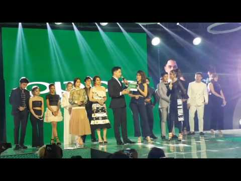 Alden Richards and Sarah Geronimo in one stage; Gretchen Ho & Robi Domingo teased at OPPO F3 Launch