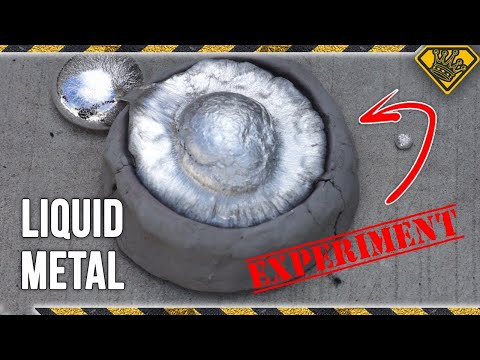 Will Liquid Metal Cast in Clay?