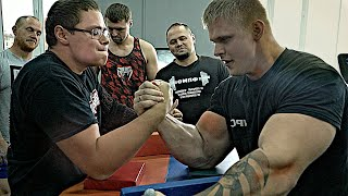 19 YEARS OLD ARM WRESTLING CHAMPION