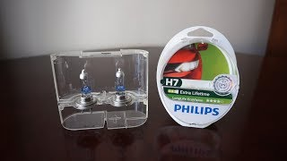 GE Megalight Ultra +130 vs Philips LongLife EcoVision