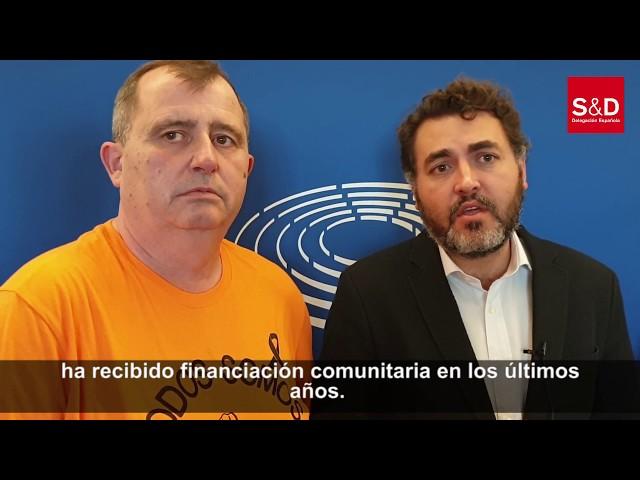 Visita de Vesuvius al Parlamento Europeo