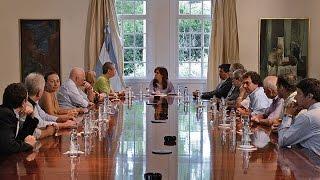 Cristina recibió en Olivos a asociación de familiares víctimas del atentado a la AMIA