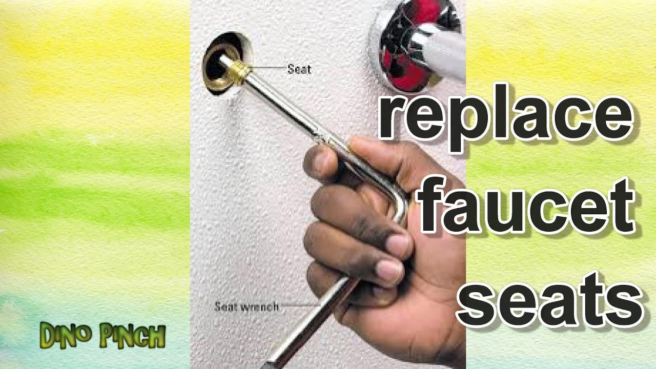Replace Brass Faucet Seats - YouTube