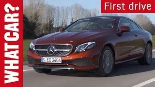 Mercedes E-Class Coupé 2017 review   What Car? Short
