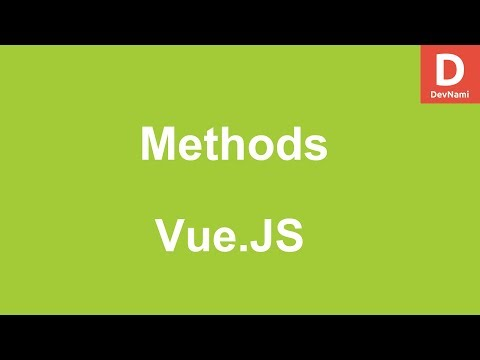 Vue.Js How to use Methods in Vue thumbnail