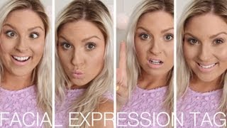 40 Facial Expressions ♡ TAG!!