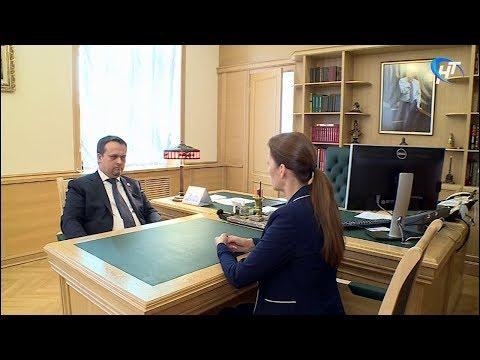 Андрей Никитин провел рабочую встречу с Антониной Саволюк