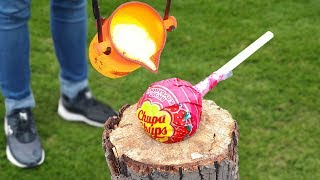 EXPERIMENT: LAVA VS BIG CHUPA CHUPS