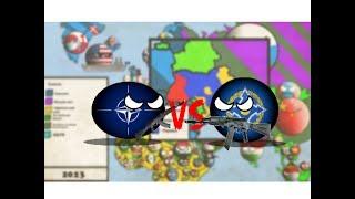 (COUNTRYBALLS) Альтернативне Майбутнє Європи #2 | НАТО vs ОДКБ