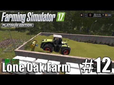 Farming Simulator 17 - Lone Oak farm - Timelapse # 12 - Finishing The Silage And Potatoes