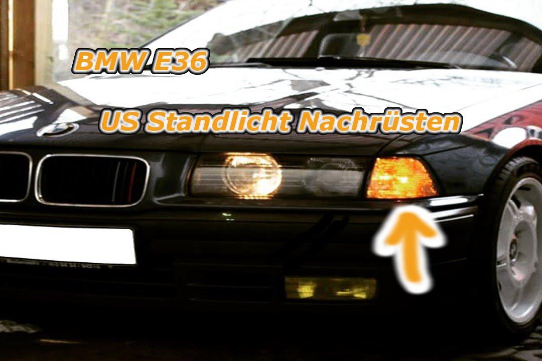Bmw US Standlicht (Kein Modul Nötig) Original BMW E36 US Sockel ...