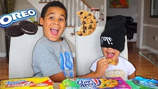 Guess That Cookie Challenge! FamousTubeKIDS