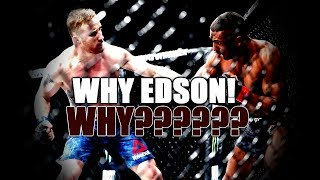 SMH...Edson Barboza Will NEVER Learn!