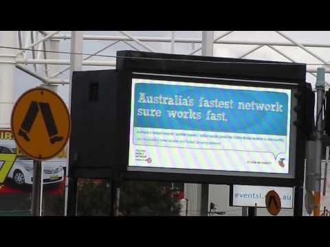 outdoor video P8 led billboard in Australia
