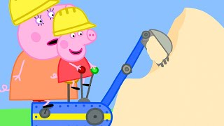 Peppa Pig Official Channel | Peppa Pig at the Digger World