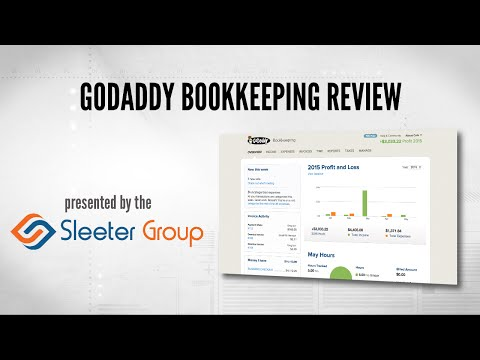 GoDaddy Bookkeeping Video Review - Accountex Report