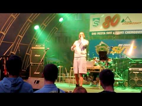 Plexo & Mugis- Najkrajšia Vec STREETBALL FEST Svit 19.7.2014