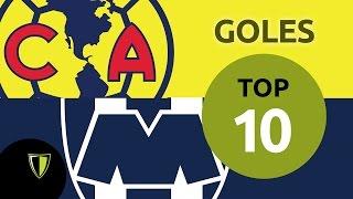 Top 10 Goles América vs Monterrey