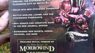 The Elder Scrolls III Tribunal Unboxing (PC) ENGLISH