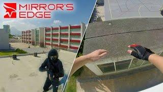 real life mirror s edge parkour gopro pov