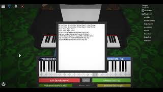 """""""Cuore e anima"""" Roblox Piano / Virtual Piano [NOTES IN DESC]"""