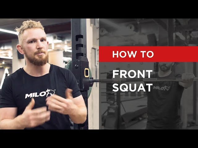 HOW TO: Front squat