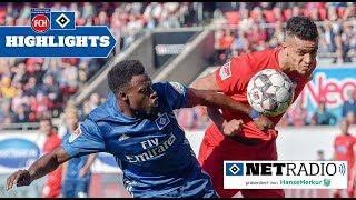 Die HSVnetradio Highlights zum Spiel gegen den 1. FC Heidenheim | #FCHHSV