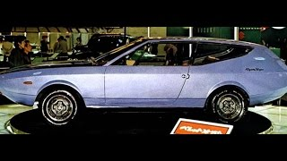 #2815. Isuzu bellett sports wagon ghia 1971 (Prototype Car)