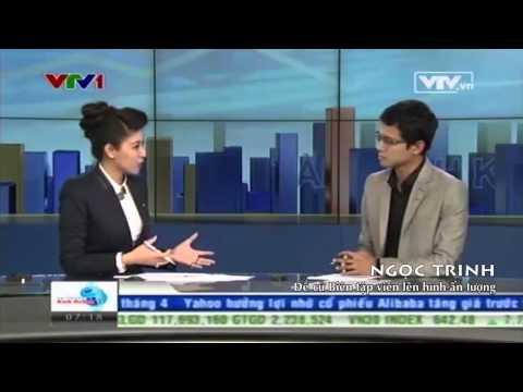 Ngọc Trinh - Biên tập viên lên hình ấn tượng - Ấn tượng VTV