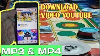 Gambar cover Cara mudah download video youtube dalam bentuk mp3 , mp4 TANPA APLIKASI