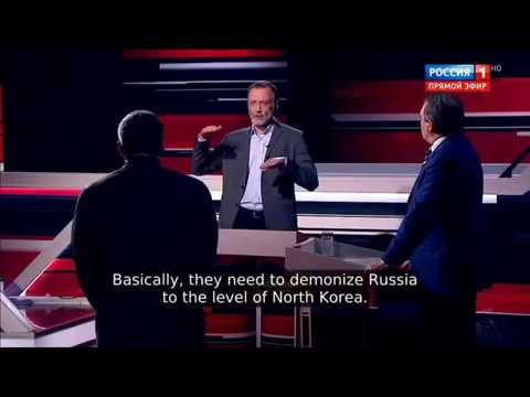 Russ. TV: Westen plant Russland zum Schurkenstaat zu erklären - Militärschlag gegen Damaskus geplant