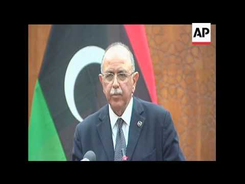 Libya's interim leadership has chosen an electronics engineer from Tripoli as the country's new prim