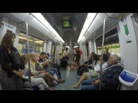 Barcelona Metro - Gangnam Style Karaoke!