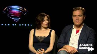 Man of Steel: Michael Shannon and Antje Traue