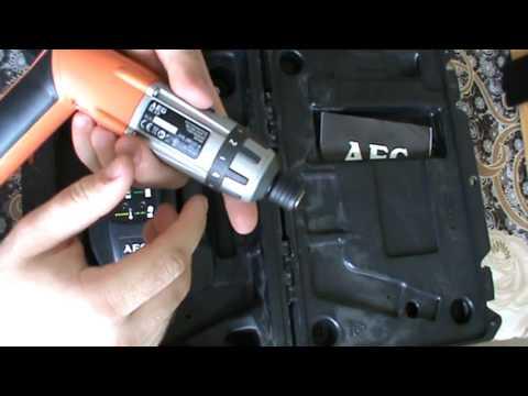 Аккумуляторная отвертка AEG SE 3.6v