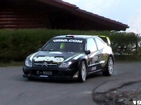 Citroen Xsara WRC Tribute With PURE SOUND!! - Accelerations, Backfires & More!!