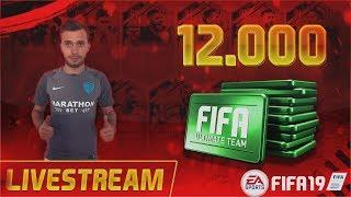 FIFA 19 ULTIMATE TEAM - SUPER PACK OPENING 12.000 FIFA POINTS TRANSFERURI ALATURI DE ABON ...