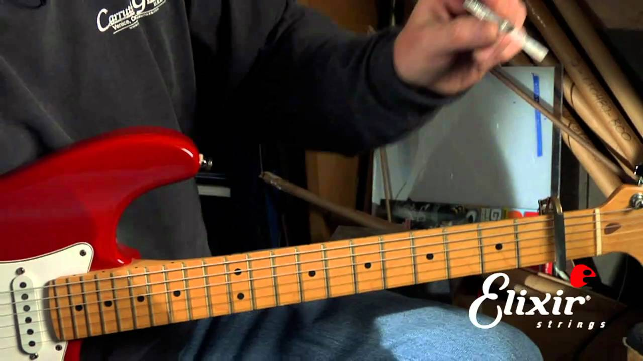 Setting Up Your Stratocaster Guitar Adjusting The Truss Rod Step 1 Electric Parts Diagram String Finger Numbering And Etc Of 4 Youtube