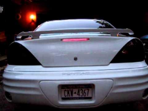 2002 Pontiac Grand Am tail light streetglow strobes  YouTube