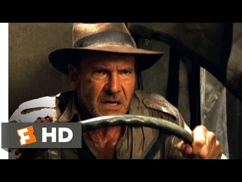 Indiana Jones 4 (1/10) Movie CLIP - Warehouse Escape (2008) HD