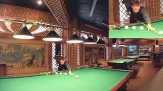 Видео-урок бильярда Урок №1 - Постановка опорной руки (моста)