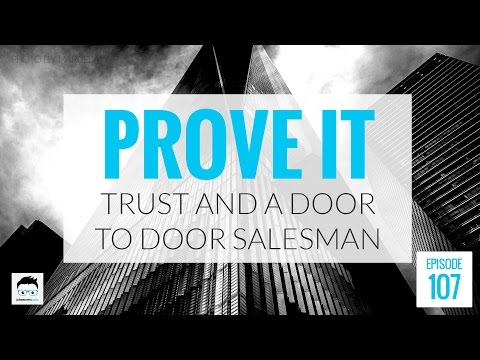 What I Learned About Trust From a Door to Door Salesman
