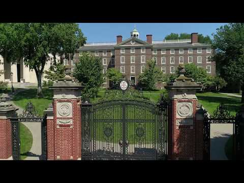 Epic Drone Footage of Brown University in Providence Rhode Island