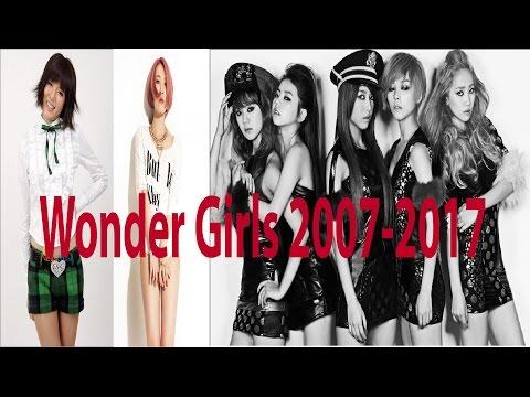 Wonder girls Evolution Tribute 2007-2017 Kpop legends #ThankYouWonderGirls